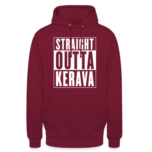 """Straight outta Kerava - Huppari """"unisex"""""""