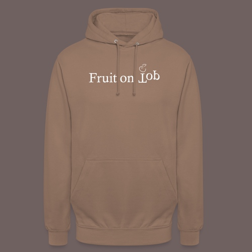 GBIGBO zjebeezjeboo - Fleur - Fruit [FlexPrint] - Sweat-shirt à capuche unisexe