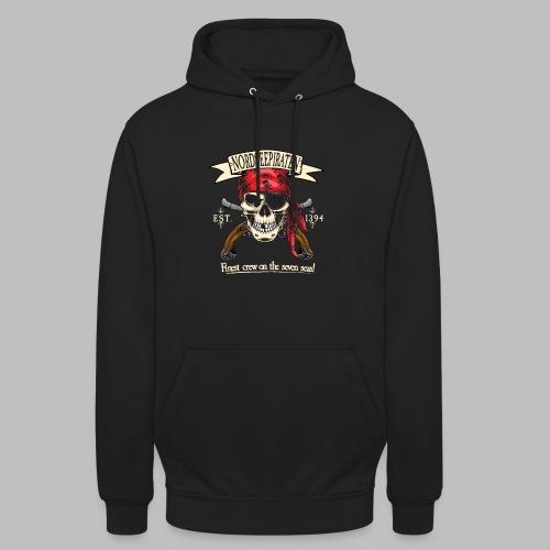 Nordseepiraten Piratenschädel Totenkopf Geschenke - Unisex Hoodie