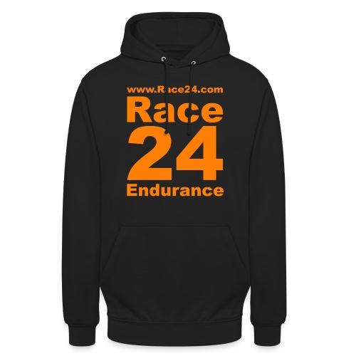 Race24 Logo in Orange - Unisex Hoodie