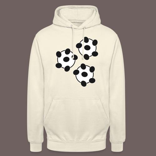 GBIGBO zjebeezjeboo - Fun - Wiggle Wiggle 01 Noir - Sweat-shirt à capuche unisexe