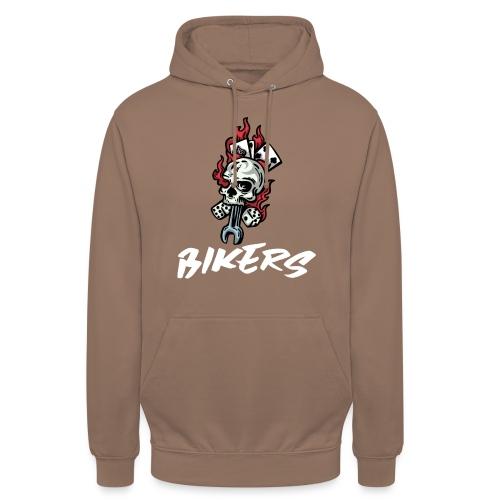 biker 666 - Sweat-shirt à capuche unisexe
