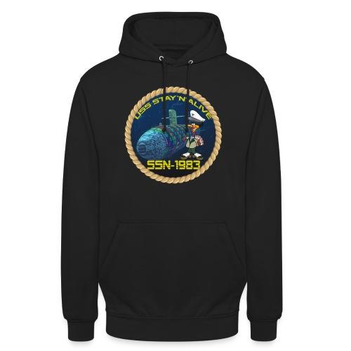 Command Badge SSN-1983 - Unisex Hoodie