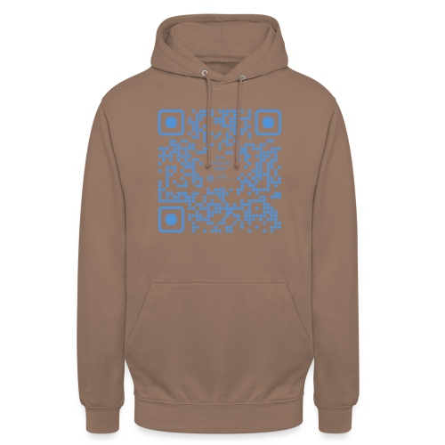 QR The New Internet Shouldn t Be Blockchain Based - Unisex Hoodie