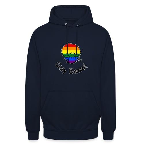 Homosexuell Baaa! Rainbow Pride Sheep (schwarze Ausgabe) - Unisex Hoodie