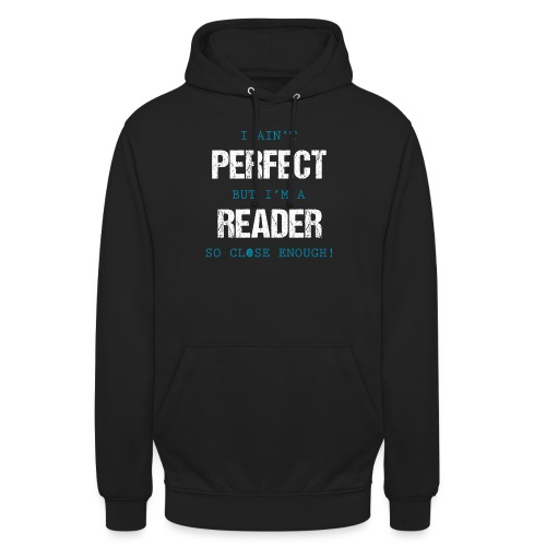 0053 readers are almost perfect! | Book | Read - Unisex Hoodie