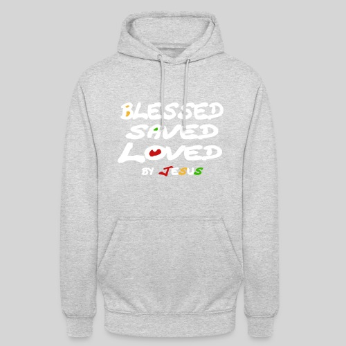 Blessed Saved Loved by Jesus - Unisex Hoodie