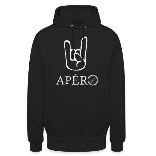 rock and apéro - Sweat-shirt à capuche unisexe