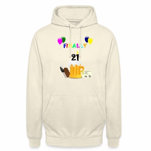 Finally 21 (2) - Unisex Hoodie