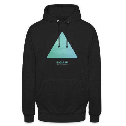 Mountains in a triangle - Unisex Hoodie