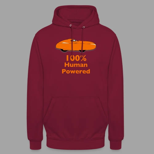"100% human powered - Huppari ""unisex"""