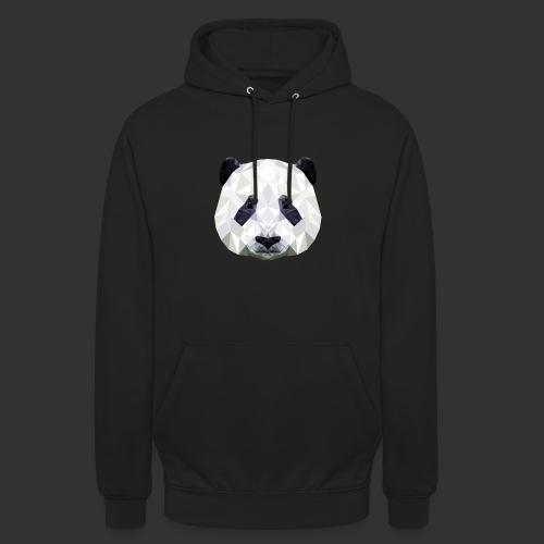 Panda Low Poly - Sweat-shirt à capuche unisexe