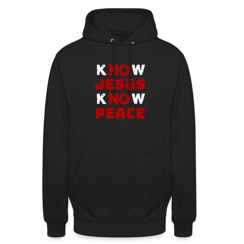 Know Jesus Know Peace (Classic) - Unisex Hoodie