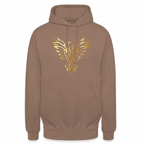 Złoty fenix - Bluza z kapturem typu unisex