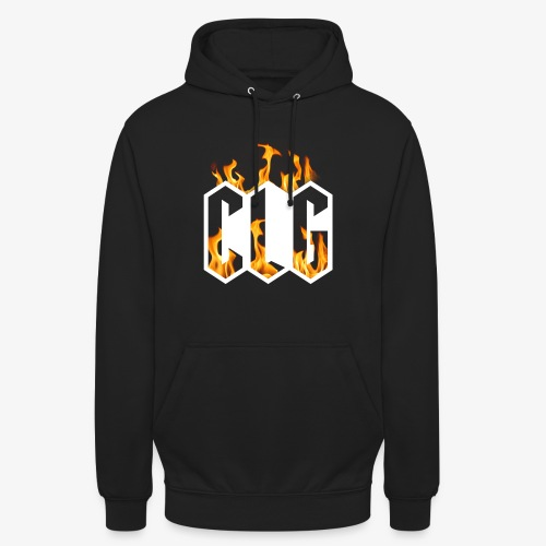 CLG DESIGN - Sweat-shirt à capuche unisexe