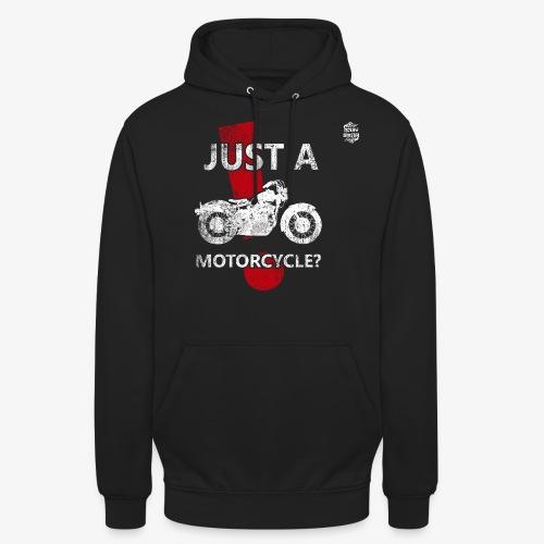 JustAMotorcycleSUD - Sudadera con capucha unisex