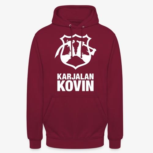 "Karjalan Kovin Iso logo - Huppari ""unisex"""