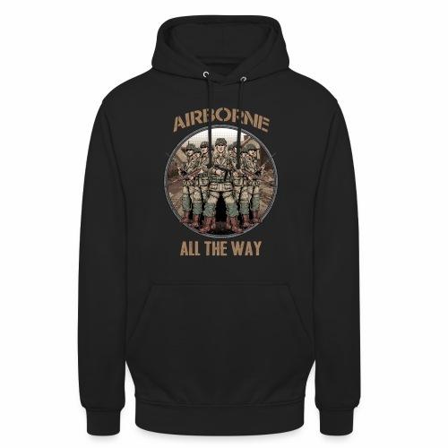 Airborne - Tout le chemin - Sweat-shirt à capuche unisexe