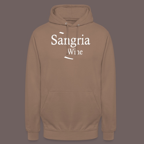 GBIGBO zjebeezjeboo - Fleur- Vin de Sangria [Flex] - Sweat-shirt à capuche unisexe