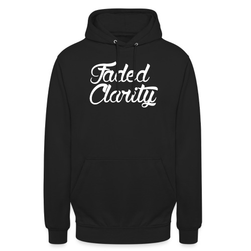 White logo alt png - Unisex Hoodie