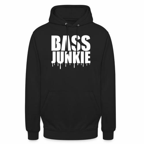 Bassjunkie Bass Music Musik Electro Festivals DJ - Unisex Hoodie