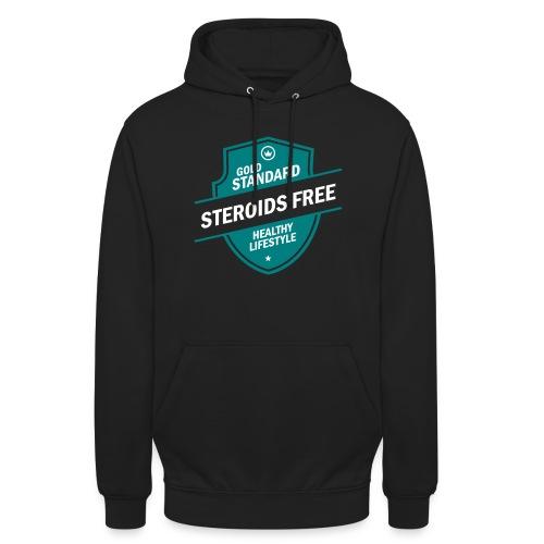 GoldStd-SteroidsFree-33 - Unisex Hoodie
