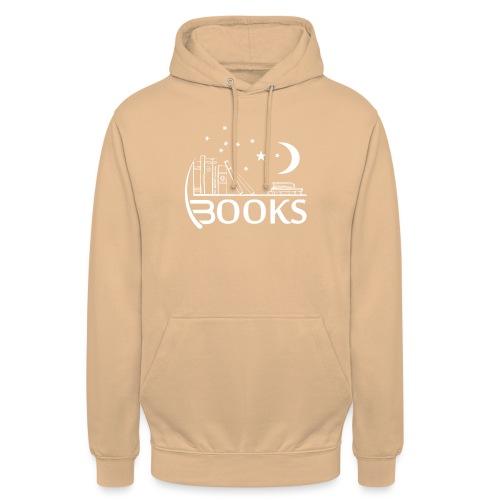 Books_White - Unisex Hoodie