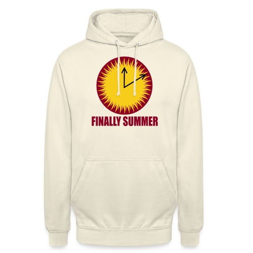 Finally Summer - Unisex Hoodie