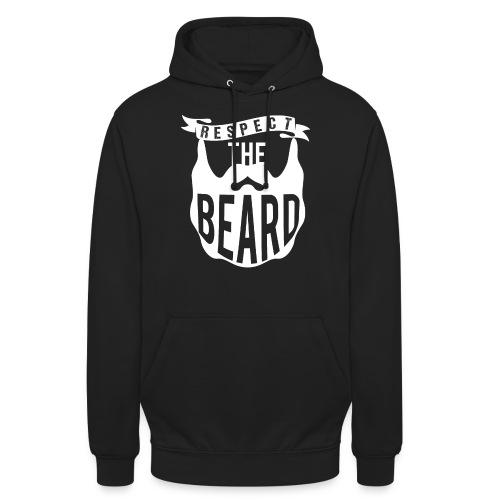 Respect The Beard - Unisex Hoodie