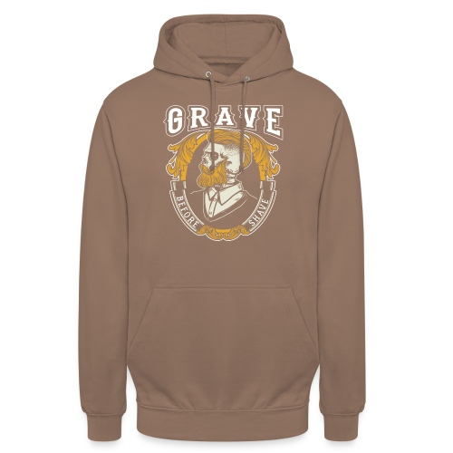 Grave Before Shave Bearded - Unisex Hoodie