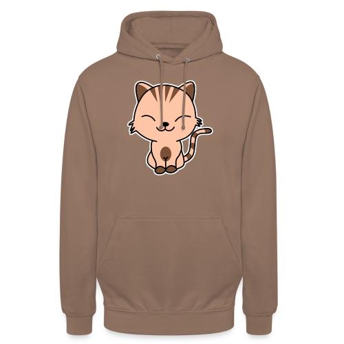 Fröhliche Katze - Unisex Hoodie