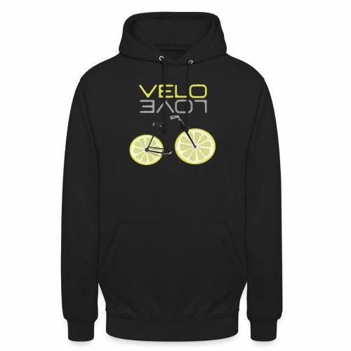 Lemon Bike Shirt Velo Love Shirt Radfahrer Shirt - Unisex Hoodie