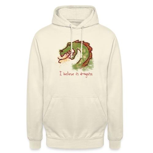 I believe in dragons - Unisex Hoodie