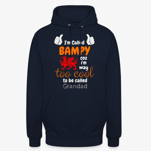 I'm Called BAMPY - Cool Range - Unisex Hoodie