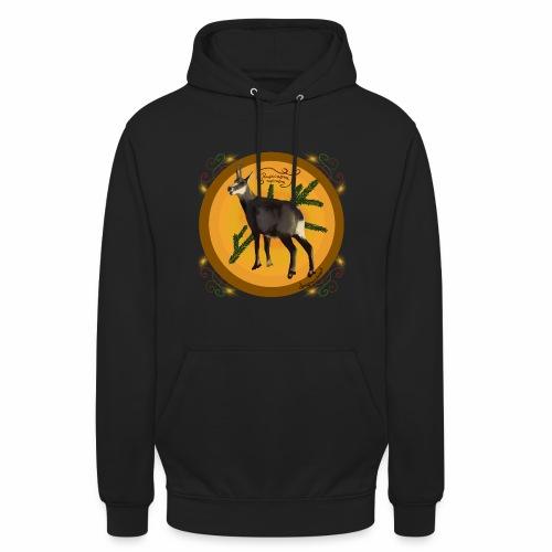 Chamois chamois - Sweat-shirt à capuche unisexe