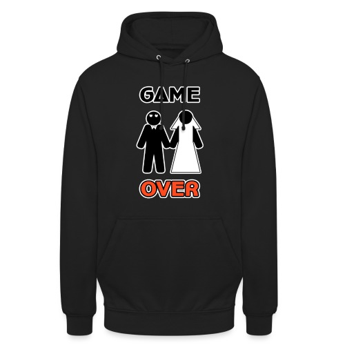 Addio al Celibato - Game Over - Felpa con cappuccio unisex