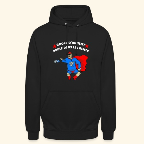 boule d' argent - Sweat-shirt à capuche unisexe