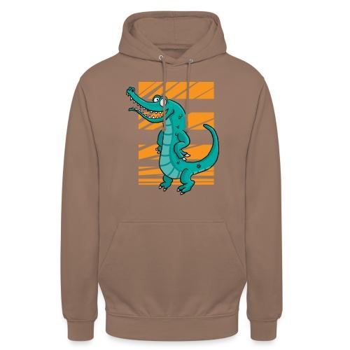 Crocrodile - Sweat-shirt à capuche unisexe