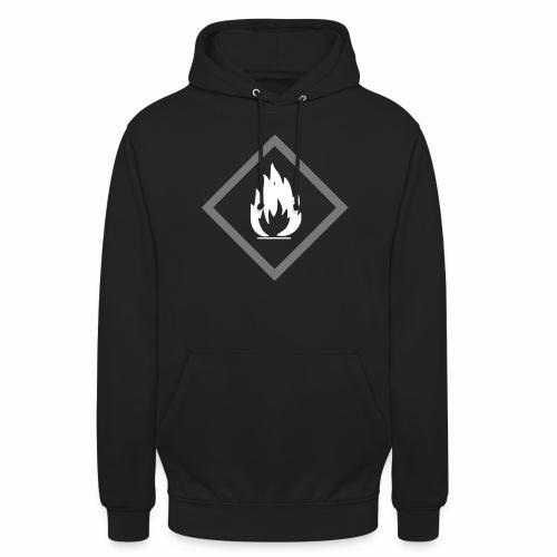 Achtung Brandgefahr / Feuer / leicht entzündlich - Unisex Hoodie