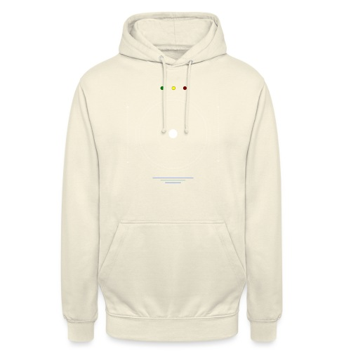 Logo moon #1 - Sweat-shirt à capuche unisexe