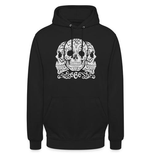 Skull Dia de los muertos - Sweat-shirt à capuche unisexe