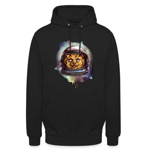 Cute astronaut kitten - Unisex Hoodie