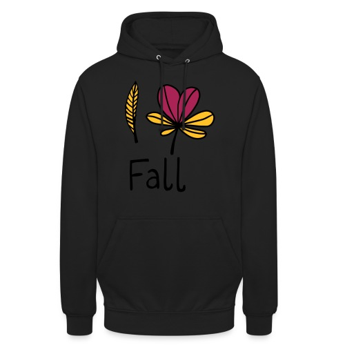 Fall in love - Unisex Hoodie
