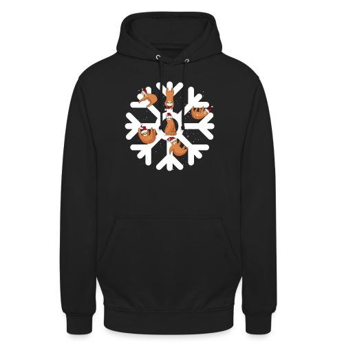 Snowflake Sloth - Unisex Hoodie
