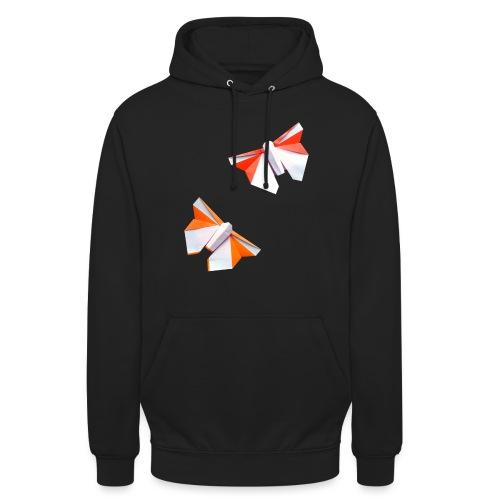 Butterflies Origami - Butterflies - Mariposas - Unisex Hoodie