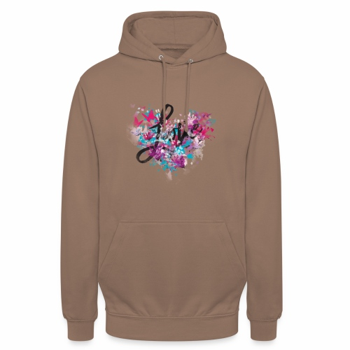 Love with Heart - Unisex Hoodie