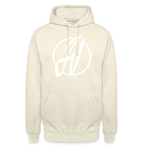 JV Guitars - logo blanc - Sweat-shirt à capuche unisexe