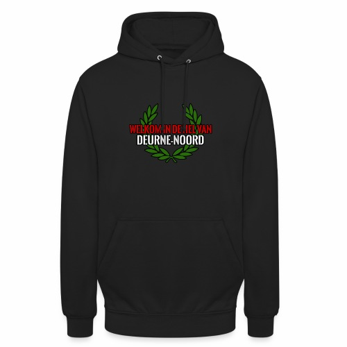 Welkom in de hel van Deurne-Noord - Sweat-shirt à capuche unisexe