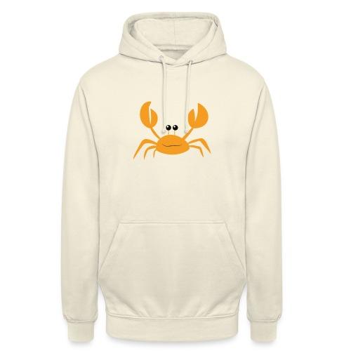 crab - Felpa con cappuccio unisex