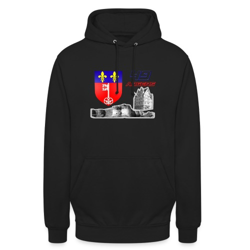 49 Angers - Sweat-shirt à capuche unisexe